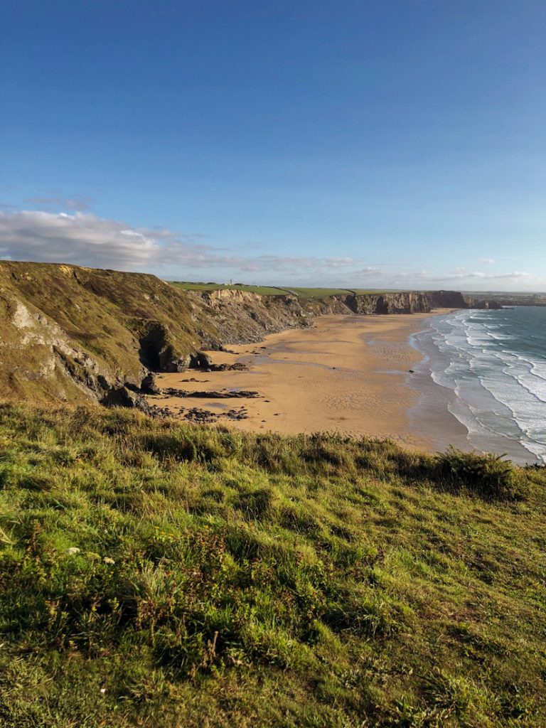 Bucht beim Seawhisper Cornwall