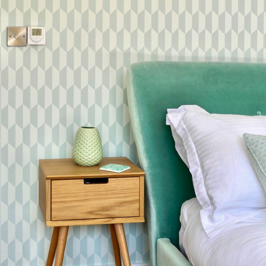 Zimmer Mint - Schlafen Ausschnitt