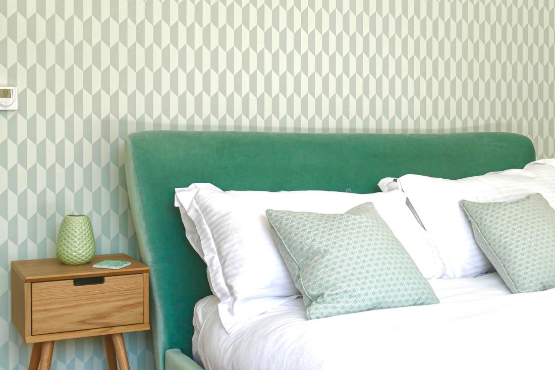 Zimmer Mint - Schlafen