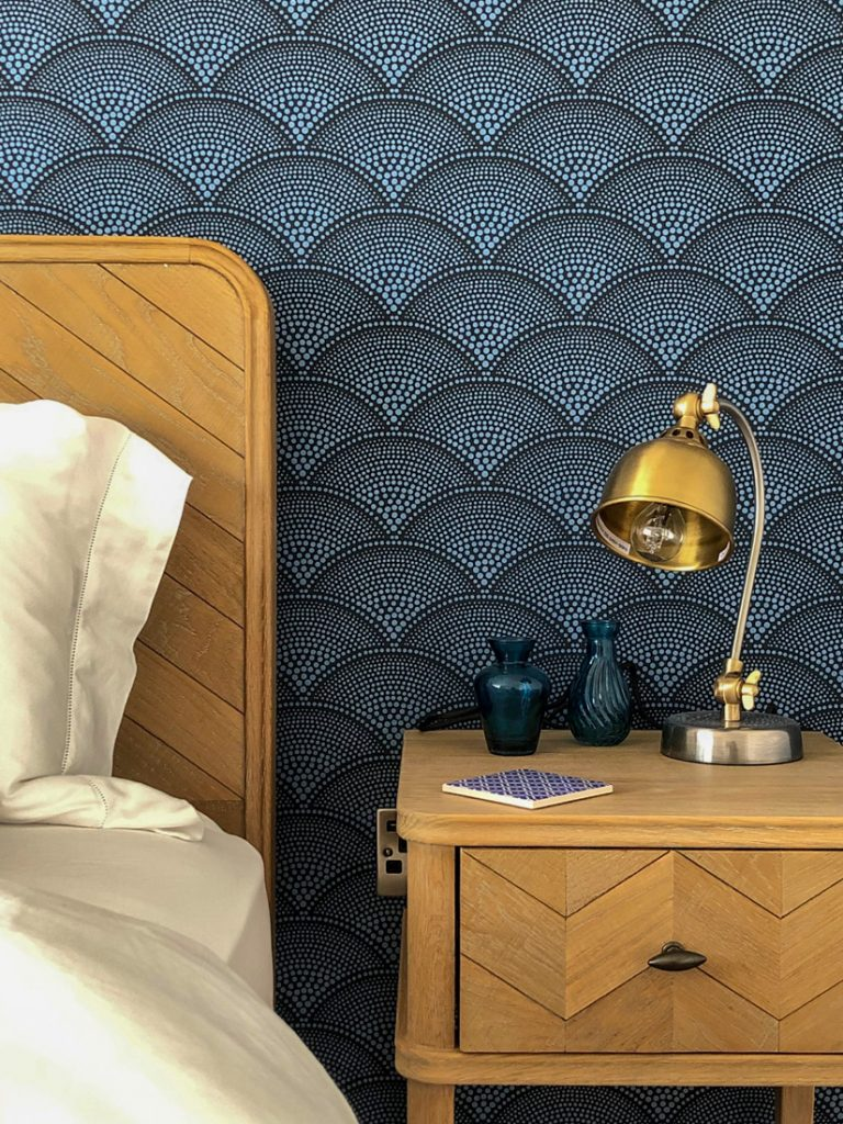 Blaues Zimmer - Seawhisper Cornwall