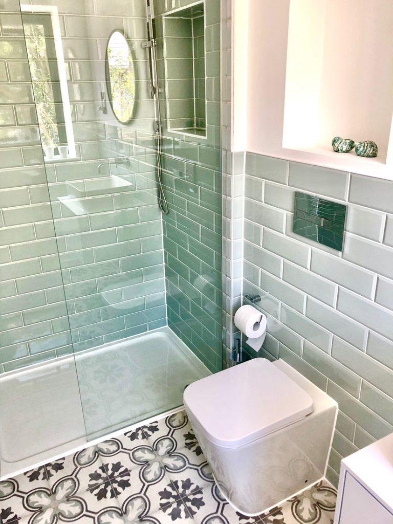 Zimmer Mint - Duschen